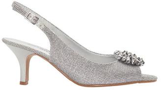 Easy Steps Anissa Silver Shimmer Fabric Sandal