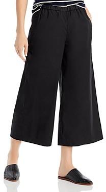 Eileen Fisher Cropped Wide Leg Pants