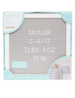 Motherhood Maternity Pearhead Felt Letterboard Set