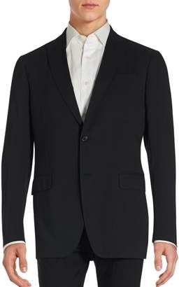 John Varvatos Hampton Solid Linen Blend Sportcoat