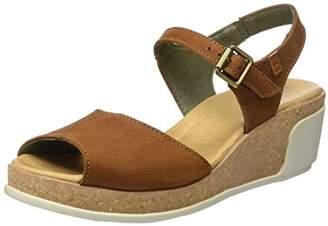 El Naturalista S.A N5000 Pleasant Leaves, Women's Open-toe sandals, Black, (42 EU)