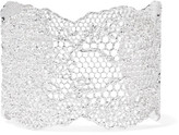 Aurelie Bidermann Lace Silver-plated Cuff - one size