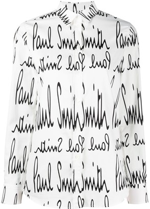 Paul Smith Logo-Print Shirt