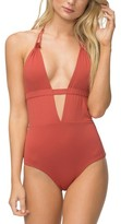 Tavik Women's Emme Halter One-Piece Swimsuit