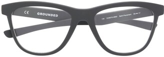 Oakley Grounded cat-eye glasses