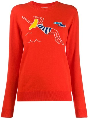 Chinti and Parker Swimmer Sweater