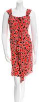 Miu Miu Printed Sleeveless Dress