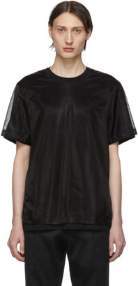 Helmut Lang Black Double Short Sleeve T-Shirt