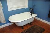 "Cambridge Plumbing 55"" x 23.25"" Rolled Rim Claw Foot Bathtub Leg"