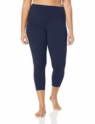 "Core 10 Amazon Brand Women's Nearly Naked Yoga High Waist 7/8 Crop Legging-24"""