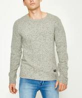Dr. Denim Noah Sweater Grey Neps