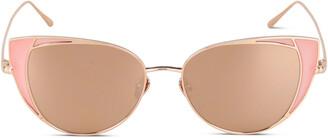 Linda Farrow LFL855 Cat Eye Frame Sunglasses