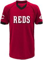 Majestic Little Boys' Cincinnati Reds Lead Hitter T-Shirt