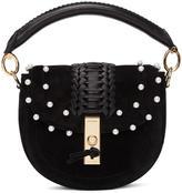 Altuzarra Black Mini Ghianda Pearl Bag