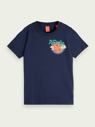 Scotch & Soda Organic cotton artwork T-shirt | Boys