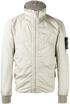 Stone Island zip anorak jacket - men - Polyamide/Polyurethane Resin - L