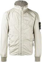 Stone Island zip anorak jacket