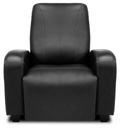 Bass Signature Series Milan Home Theater Individual Seat Reclining Type: Manual, Leg Color: Beech, Cupholders: Black cup holders