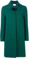 L'Autre Chose pom pom collar coat - women - Polyester/Viscose/Wool - 40