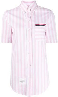 Thom Browne Striped Button Down Shirt
