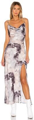 superdown Krystal Slit Maxi Dress
