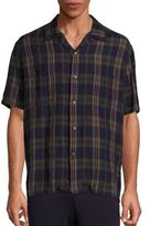 Vince Cabana Short Sleeve Shirt