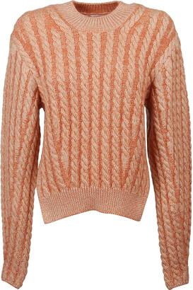 Chloé Stripe Woven Sweater