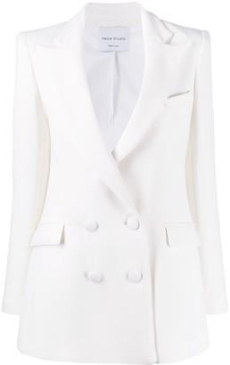 Hebe Studio Double Breasted Blazer
