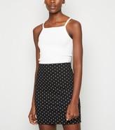 New Look Tall Spot Tube Skirt
