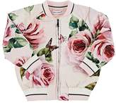 Dolce & Gabbana Reversible Quilted Tech-Silk Bomber Jacket