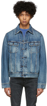 Moussy Blue Denim Oversize Jacket