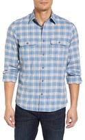 Nordstrom Men's Trucker Slim Fit Flannel Shirt