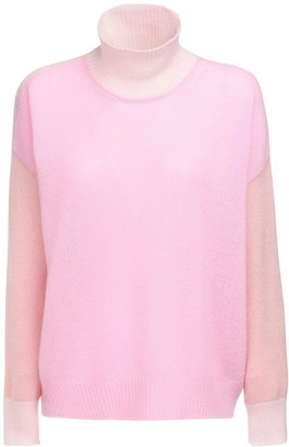 Marni Patchwork Cashmere Turtleneck Sweater