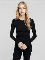 Calvin Klein Womens Stretch Cashmere Crew Neck Sweater