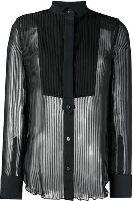 Sacai Sheer Panel Shirt