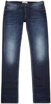 Stone Island Blue Slim-leg Jeans