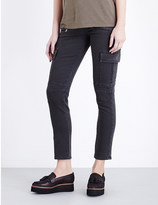 Hudson Colby skinny mid-rise jeans