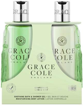Grace Cole Grapefruit Lime Mint 300ml Body Care Duo