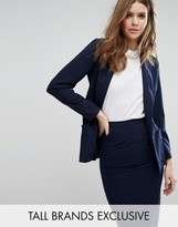 Alter Tall Frill Pocket Detail Blazer