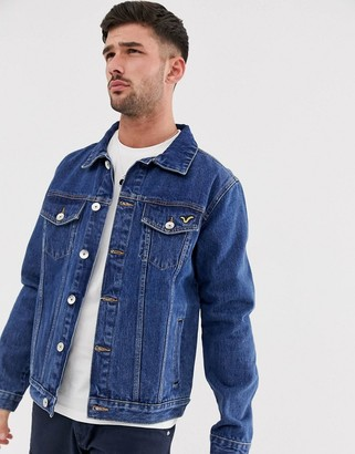 Voi Jeans dark wash denim jacket