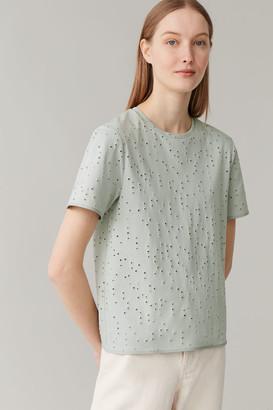 Cos Broderie-Anglais T-Shirt