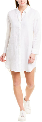 James Perse Utility Linen Shirtdress