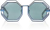 Karen Walker Women's Emmanuel Sunglasses-BLUE