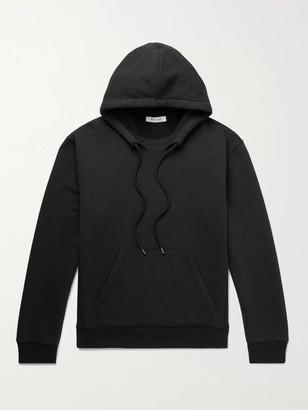 Frame Fleece-Back Cotton-Jersey Hoodie