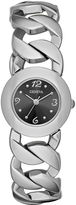 JCPenney FASHION WATCHES Womens Open Link Bracelet Watch