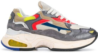 Premiata Panelled Low-Top Sneakers