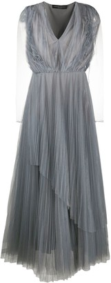 Fabiana Filippi Pleated Tulle Dress