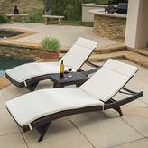 Christopher Knight Home 295702 Salem Patio Chaise Lounge