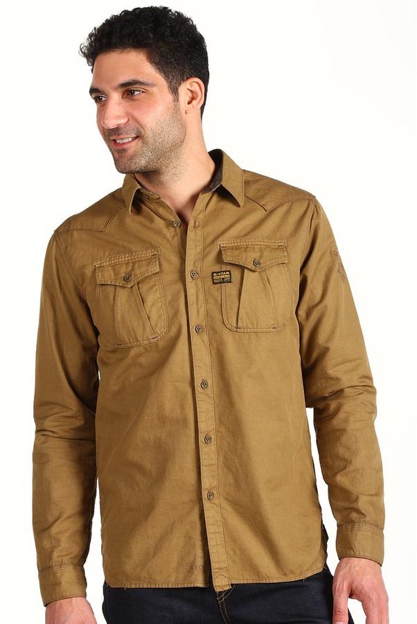 G Star G-Star - CO Western Alpine Shirt L/S (Fox) - Apparel