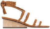 Ritch Erani NYFC Rit sandals - women - Suede/Leather/Wood - 36